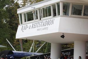 Der Richterturm im Rad- und Reitstadion, Foto: ACP Pantel