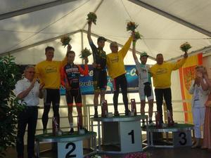 Siegerehrung: 1. Platz: Frank Schiewer/Gerd Gessler, 2. Platz: Reinier Honig/ Matte Pronk, 3. Platz: Giuseppe Atzeni/ Thomas Baur (Bild: 1/4)
