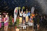 Siegerehrung Steher - Europameisterschaft 2014 - Vizeeuropameister Stefan Schäfer mit Schrittmacher Peter Bäuerlein (Bild: 2/3)