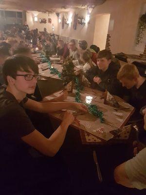 Weihnachtsfeier am 22. Dezember (Bild: 1/14)