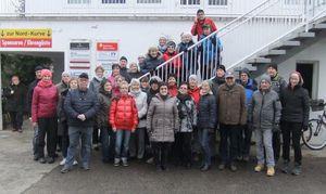 35 Wanderer vor dem Vereinshaus, Foto: Günther Schulze (Bild: 1/5)