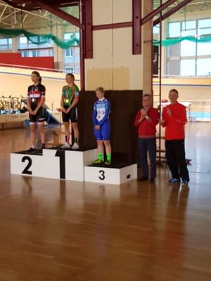 Jessica Hübner 3. Platz Omnium U 17 (Bild: 3/3)