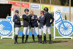 Die Reiter im Gespräch... Foto Wolfgang Spaarschuh (Bild: 3/4)