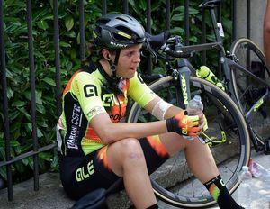 Romy Kasper nach der 2. Etappe, Foto: Anton Vos (Bild: 2/2)