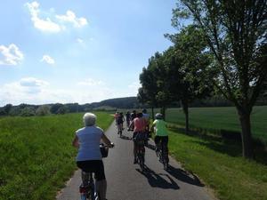 Auf dem Oder-Neiße-Radweg nach Hause