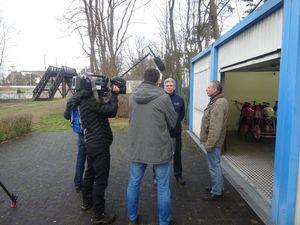Fernsehdreh im Rad- und Reitstadion (Bild: 13/14)
