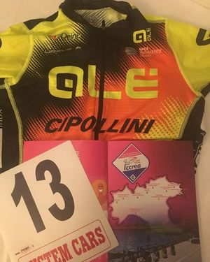 Das Giro-Trikot mit der Glückstartnummer? (Bild: 1/2)