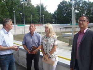 Pressetermin zur Reko Rad- und Reitstadion mit Gerd Suschowk, Dietmar Vogt, Heike Korittke und Sirko Nitzschke (Bild: 5/5)