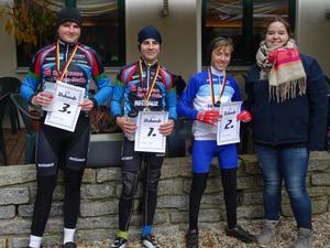 Die Sieger U 15: Konrad Kuka (3.), Ludwig Hayn (1.), Jacob Oppitz (2.) (Bild: 8/17)