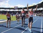 Leichtathletik-Europameisterschaft der Nationalteams in Braunschweig - nur Russland und Frankreich waren schneller.   Foto: Christophe Raux-Casals © (Bild: 3/4)